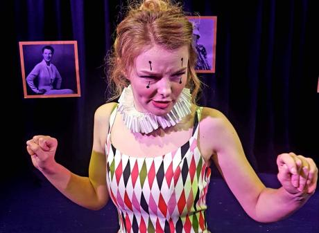 Abby Howells loved performing HarleQueen in Wellington. Photo: Supplied