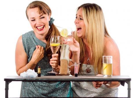 Lavvies stars Sara Georgie (left) and Rosella Hart. Photo: Supplied