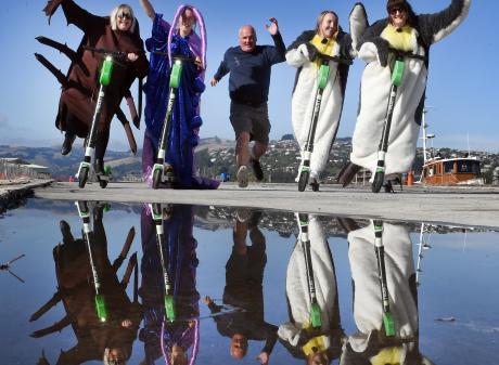 Wild Dunedin organisers (from left) Kerry Buchan, Katrina Thompson, Hoani Langsbury, Melina Momma...