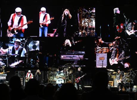 Fleetwood Mac entertains almost 30,000 fans at Forsyth Barr Stadium in Dunedin on Saturday night....