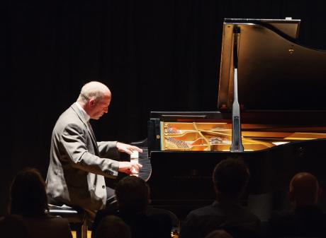 New Zealand pianist Michael Houstoun. Photo: Robert Catto