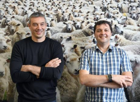 Benoit Auvray and Greg Peyroux, of Iris Data Science, who have been working on sheep facial...