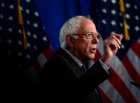 Democratic presidential candidate Senator Bernie Sanders. Photo: Reuters