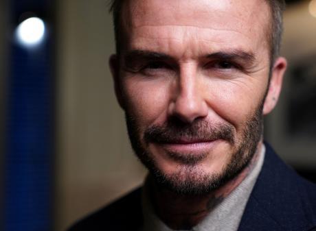 Victoria Beckham says her husband, David, uses her cosmetics. Photo: Reuters