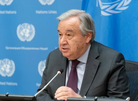 Antonio Guterres. Photo: Getty Images