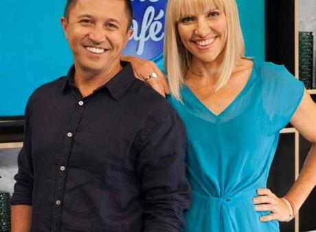 Mike Puru and Mel Homer co-hosted The Cafe on Three. Photo: Supplied
