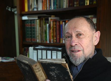 Kuri Bush resident Tony Reeder has come across a book belonging to ...