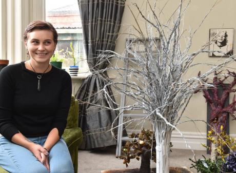 Karley Parker's paper trees have played an important part in her journey to accepting her low...