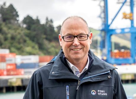 Port Otago chief executive Kevin Winders. Photo: supplied