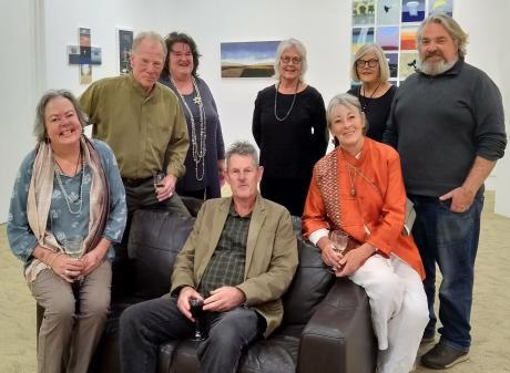 Indigo members  (from left) Rachel Hirabayashi, Shaun Burdon, Judy Cockeram, Nigel Wilson (seated...
