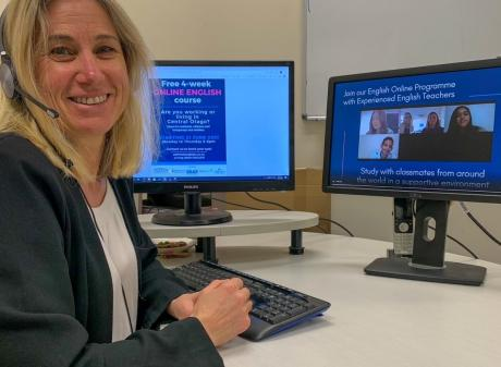 Southern Lakes English College director of studies Kathy Gaze is running a free course aimed at...