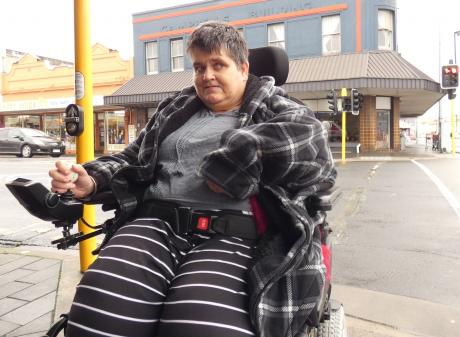 Dunedin woman Fiona Russell says many people with mobility issues could find it difficult to...