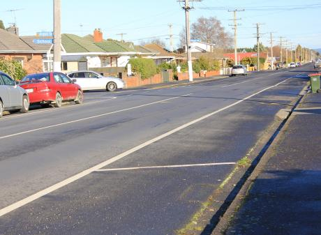 Factory Rd may have a permanent new crossing following the Mosgiel-Taieri Safer Schools Streets...