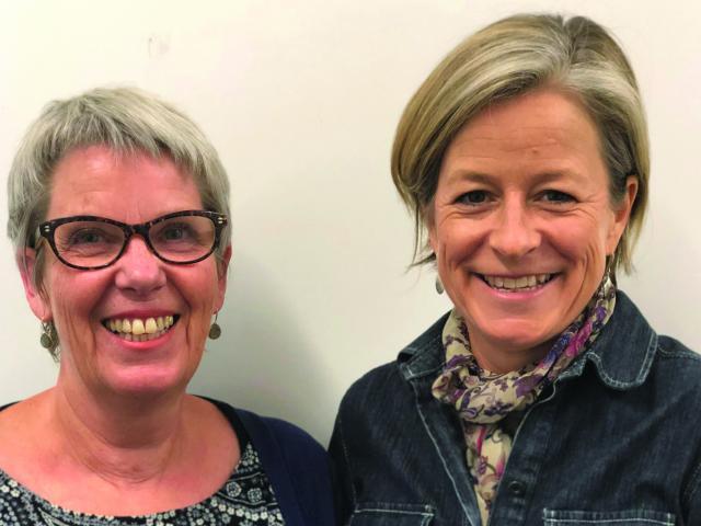 QMC Allergy Specialist Nurse Sandra Fleming and GPSI Allergy Dr Tonya Cruikshank