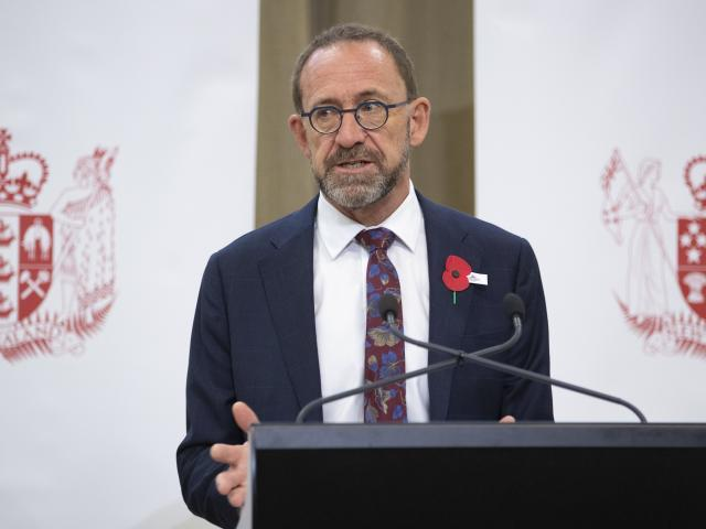 Andrew Little announces the Government response to the Simpson Report.