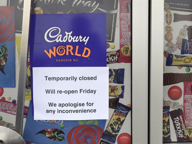 The popular tourism attraction Cadbury World is closed today but will reopen tomorrow.