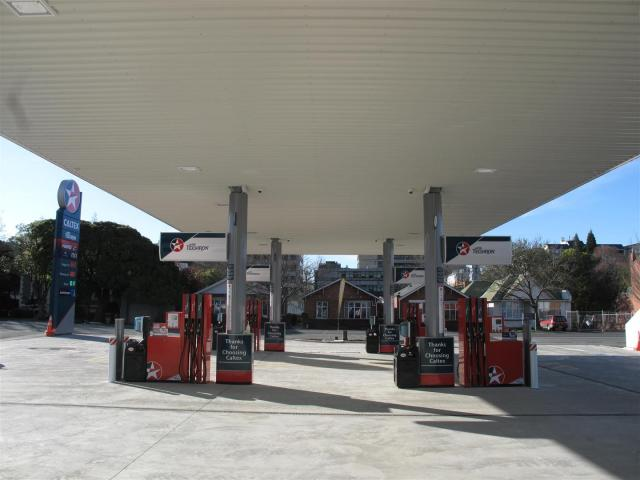 The forecourt now offers eight pumps to motorists.