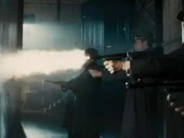 The theatre shooting scene from Gangster Squad.