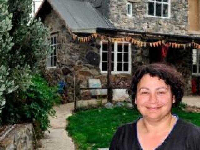 Metiria Turei's two-bedroom castle is far from a mansion. Photo: Craig Baxter