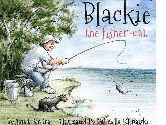 BLACKIE THE FISHER-CAT<br><b>Janet Pereira, illustrations Gabriella Klepatski</b><br><i>Craig Potton Publishing</i>