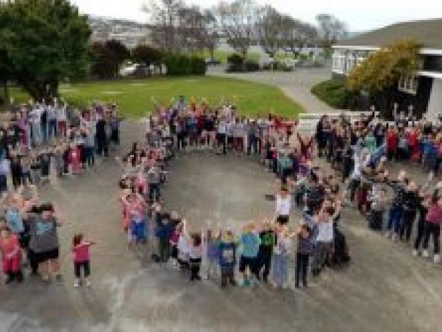 The Bathgate Park School roll has just topped 200 and the school may soon need new classrooms to cope with the growing numbers. Photo by Stephen Jaquiery.