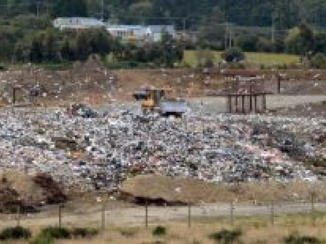 The cost of dumping waste at the Green Island landfill (pictured) is likely to be a hot topic  at  annual plan discussions this week. Photo by Gerard O'Brien.