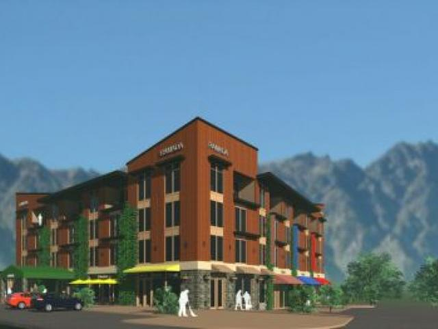 An artist's impression of the Ramada Queenstown at Remarkables Park. Image supplied.