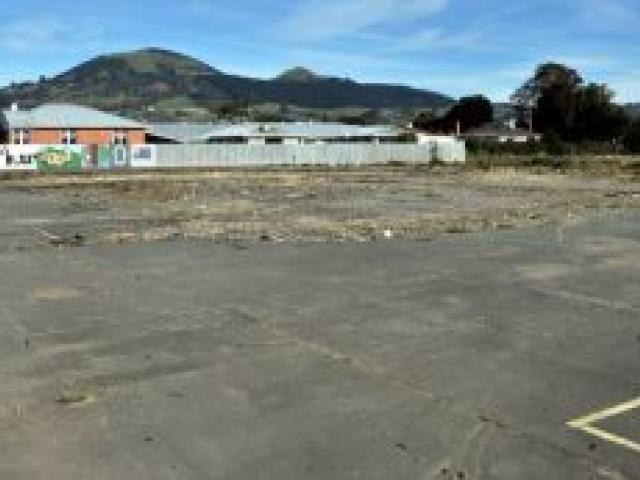 Site of the new Mosgiel Countdown. Photo by ODT.