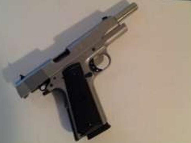 This gun appeared on the post. Photo: supplied