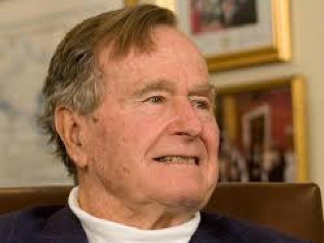 George HW Bush. Photo: Reuters
