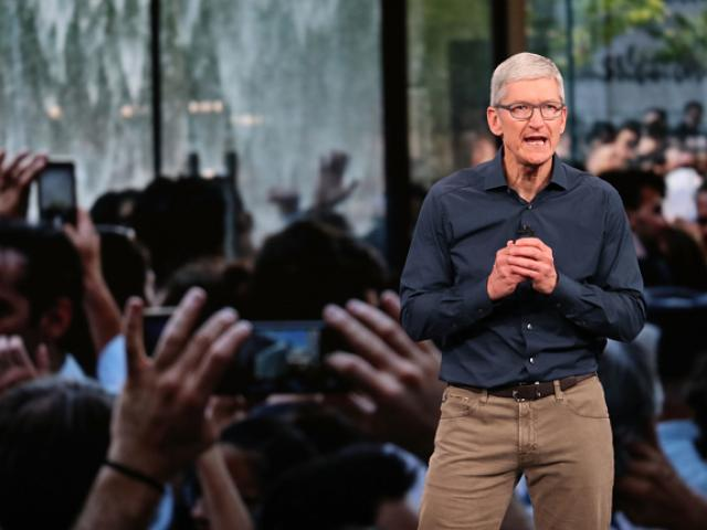 Tim Cook, chief executive of Apple. Photo: Getty Images