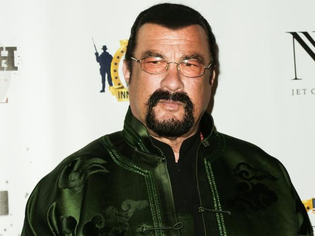 Steven Seagal. Photo: Getty Images