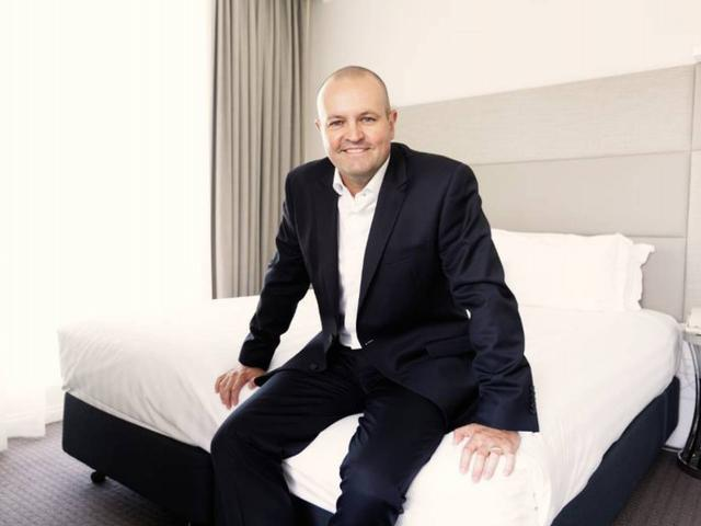 Trent Fraser, the chief executive of Choice Hotels Asia-Pac. Photo: Supplied via NZ Herald