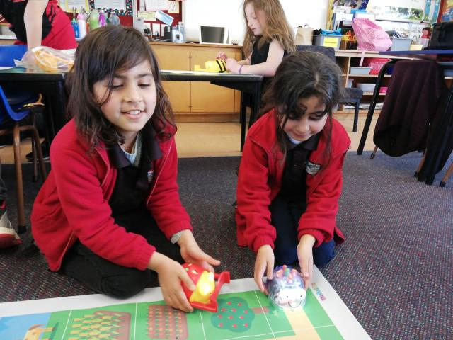 ''Future-focused'' . .. Some of the activities pupils at Brockville Full Primary School take part...