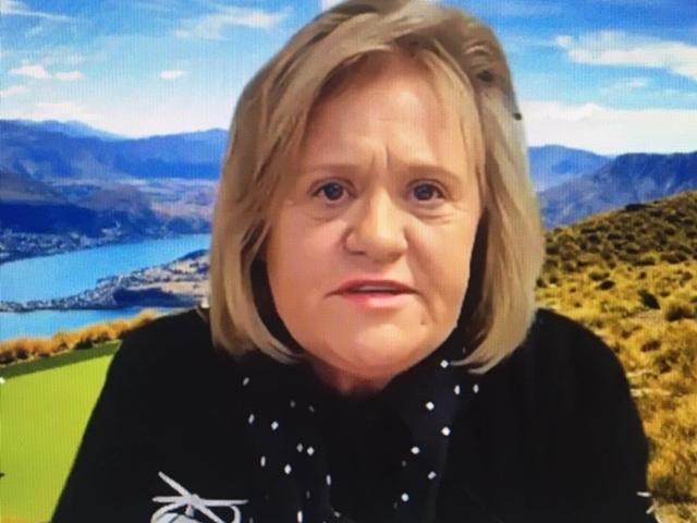 Louisa Patterson. Image: Parliament TV