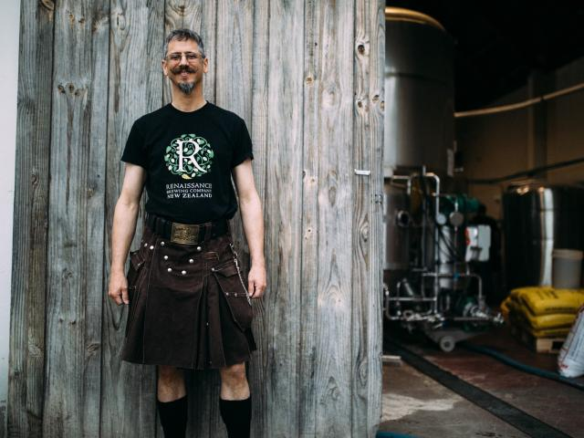 Renaissance co-founder and head brewer Andy Deuchars.