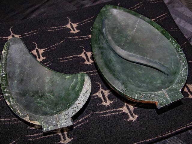 The recovered pounamu. Photo: Geoff Sloan