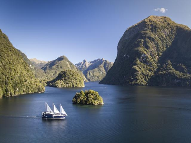 Enjoy a Doubtful Sound Wilderness Cruise. PHOTO: REAL JOURNEYS