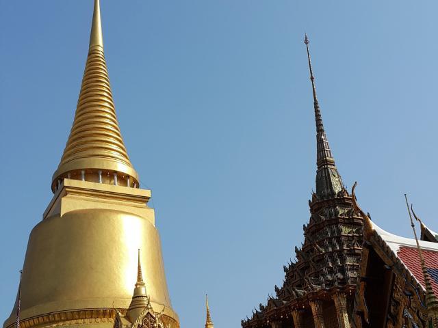 Thailand's golden stupas are a spectacular sight.PHOTOS: PAUL RUSH