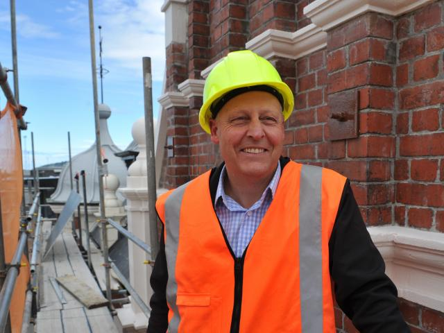 Dunedin Prison Charitable Trust chairman Owen Graham said restoration of the prison's...