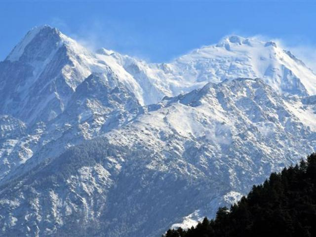The gateway to Langtang National Park.