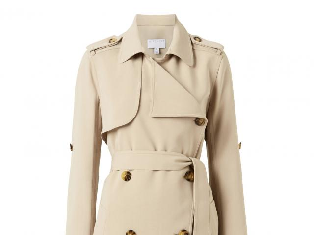 Work it: Witchery Hardware trench coat, $259.90