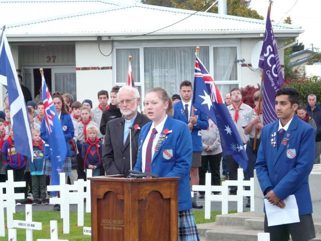 South Otago High School head girl Briar Mills (17) reflects on her changing perception of Anzac...