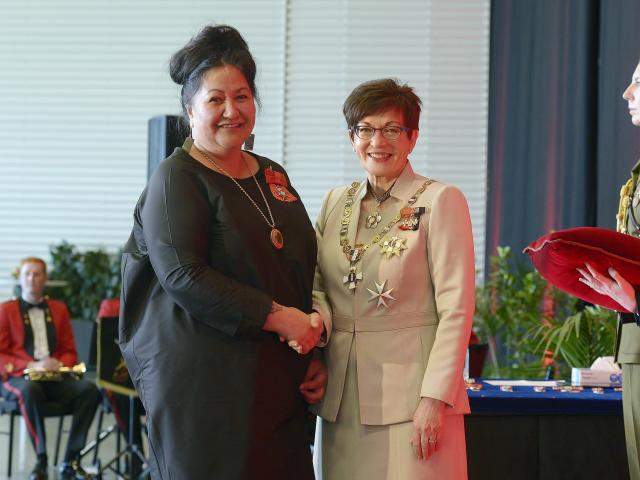 Donna Matahaere-Atariki, of Dunedin, awarded an MNZM for services to Maori and heath.