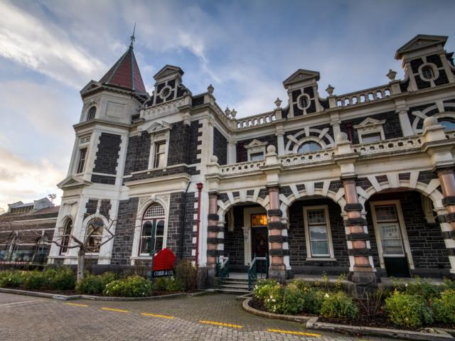 Pride of place . . . Cobb & Co is located at the north end of the Dunedin Railway Station. PHOTO:...