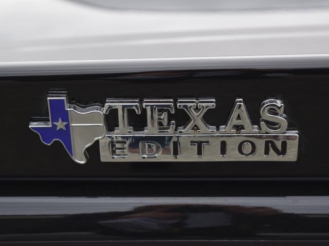 Proud Texan . . . A badge on Mr Barron's 2017 Dodge Challenger Hellcat.