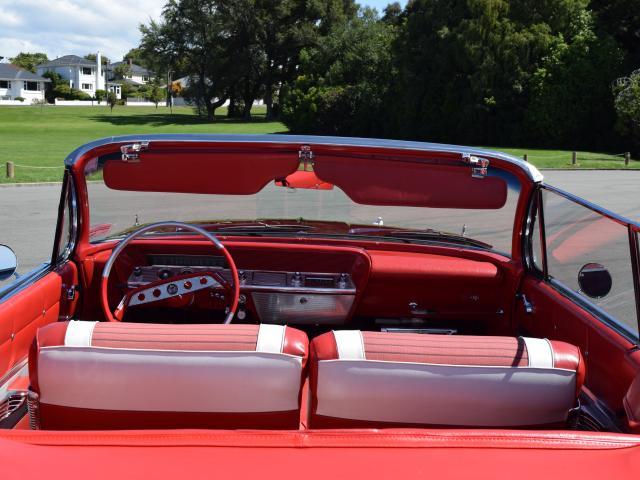 All original . . . The interior of Mr Clarke's 1961 Chevrolet Impala.