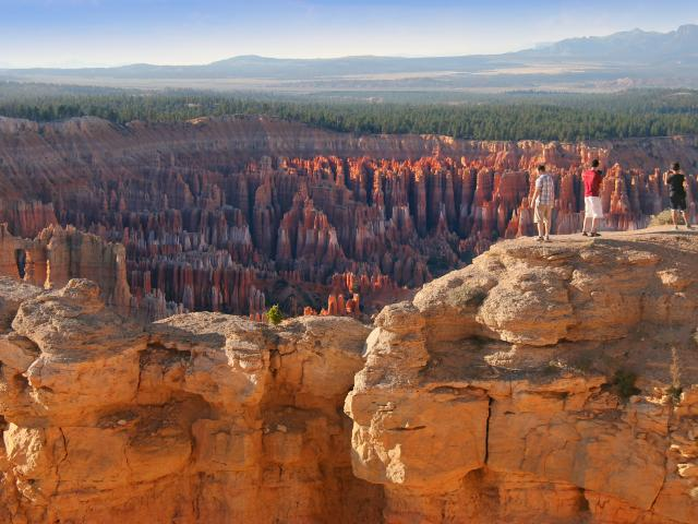 A red rock landscape is found in Bryce Canyon National Park in Utah. PHOTO: WWW.VISITUTAH
