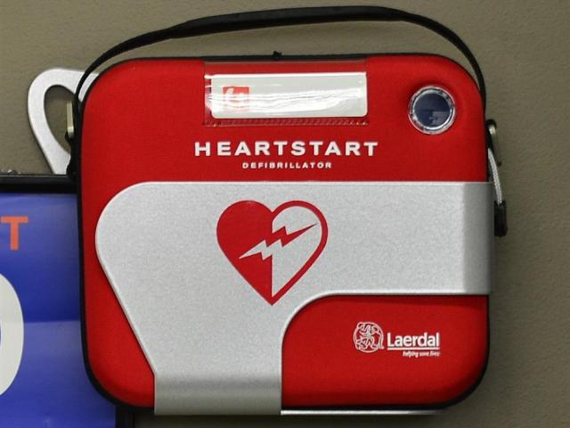 The defibrillator was paid for funds from the social club.