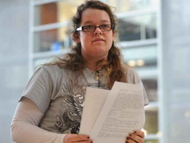 Fifth-year University of Otago student C.J. O'Connor  says capping the student allowance will...